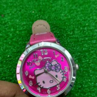Hello Kitty watch/kids watch/jam budak