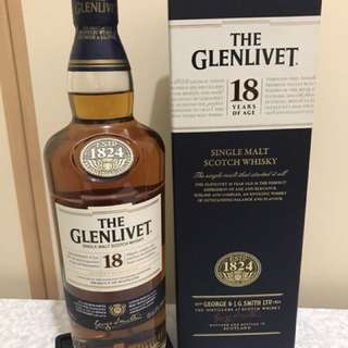 The Glenlivet 18 Whisky 威士忌18年