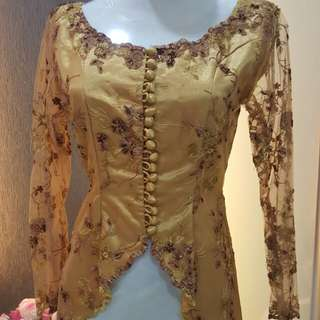Baju top Sequined Embroidery Lace_C for RENT