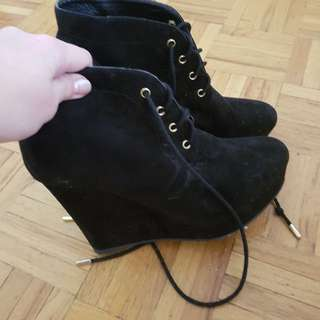 Forever 21 booties size 6.5
