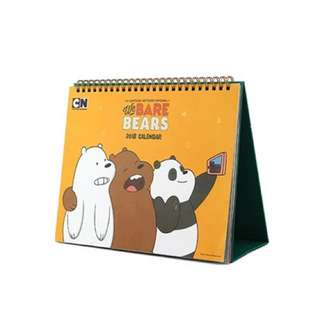 We Bare Bears 2018 Calender