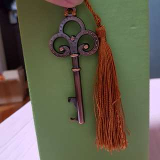 Brand New - Key Bookmark