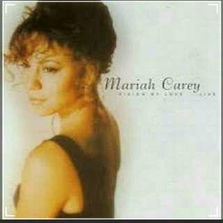 arthcd MARIAH CAREY Vision Of Love Live Unofficial CD