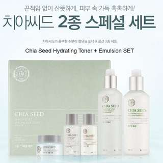 The Face Shop Chia Seed Watery Set