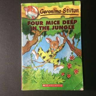 Geronimo Stilton: Four Mice Deep in the Jungle