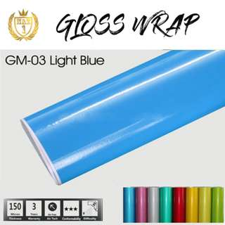 Gloss Car Wrap Vinyl 1.52m*30m
