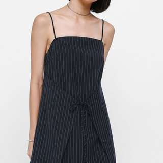 Love Bonito Pinstriped Dress
