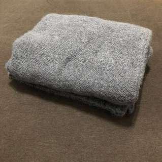 正韓 鐵灰慵懶寬鬆針織長上衣