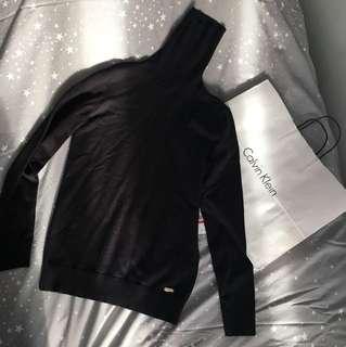 Calvin Klein black turtleneck