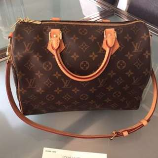 Authentic Louis Vuitton Speedy B
