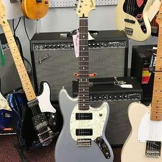 Fender Mustang P-90 Silver