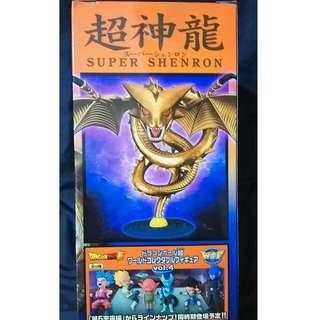金色神龍 七龍珠超 公仔 盒22X10X10