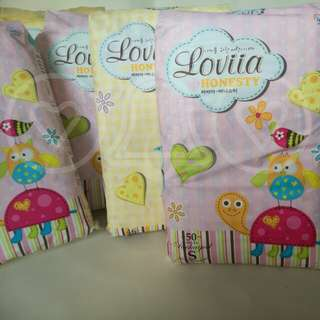 (Size S50, M46) Diapers Loviia pampers