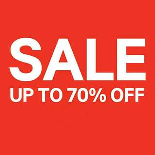 SALE !! UP TO 70% OFF !!