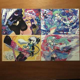 Touhou post cards