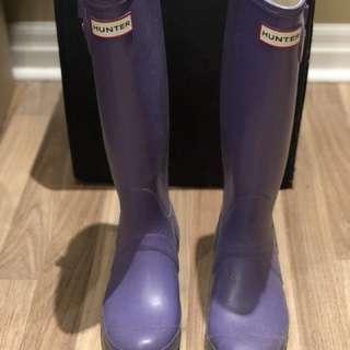 Hunter Boots - size 6F