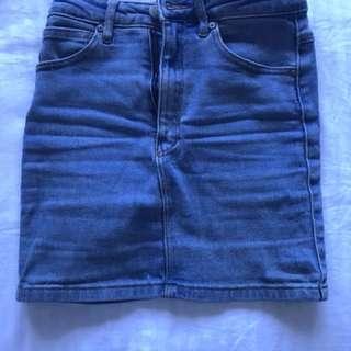 A Brand Denim Skirt (6)