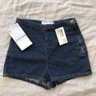 American Apparel Shorts Brand New