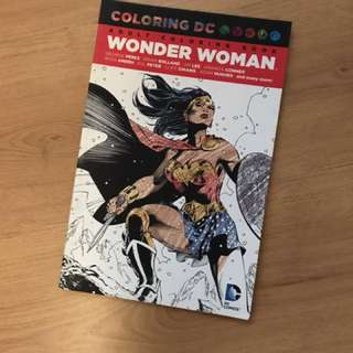NICE Wonder Woman Colouring Book❣️