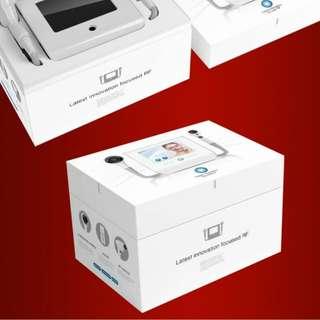 韓國品牌hifu+RF雙用美容機