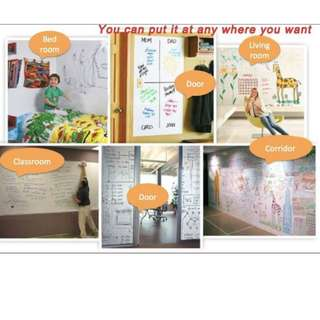 White board Wall sticker