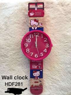 🌸hello kitty wall clock