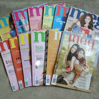 Meg Back Issue Collection (12 issues)