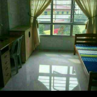 Master bedroom with attached bathroom for rent