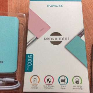 Power bank sense mini Romoss