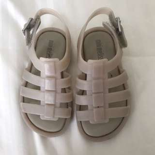 Mini Melissa sandals size 6