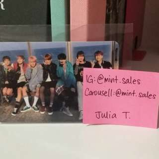 BTS Bangtan Group YNWA Official card