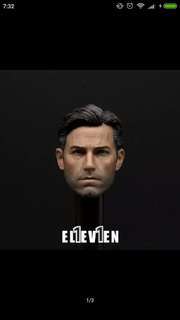 (LEFT ONE SET) Eleven ben affleck batman Bruce wayne head with business wear and body