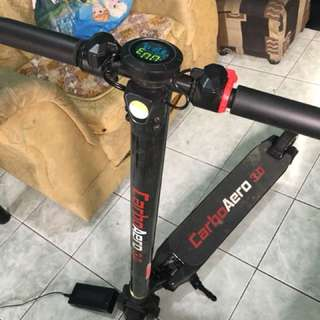 scooter rechargable came from singpore in a good running condition
