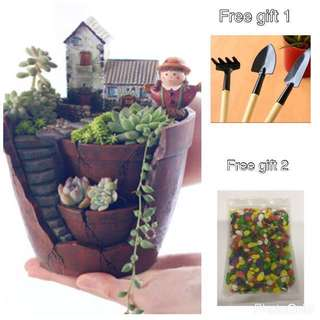 💥Promo :- DIY Unique Terrarium Garden Style Flower Pot With Free Gift