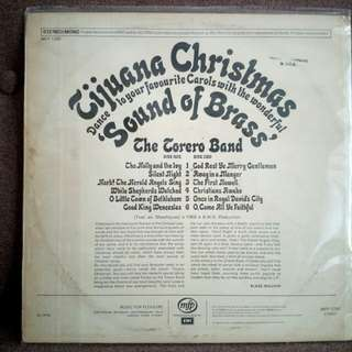 Tijuana Christmas Sound of Brass vinyl LP