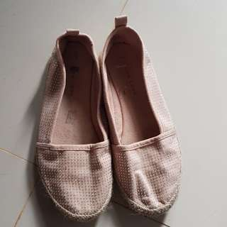 Pink Casual flat shoes NEW LOOK