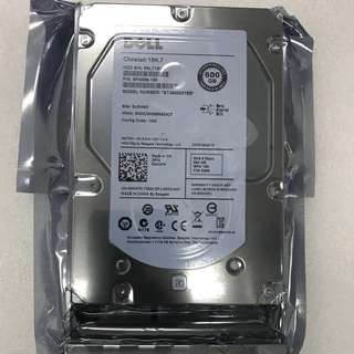 "Dell 600GB 15K SAS 3.5"" HDD W347K"