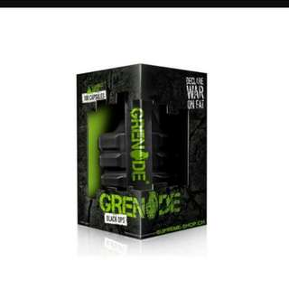 MENS black grenade oops weight management / reduce and burning fat capsule 💊 (75 pcs) testosterone indulged