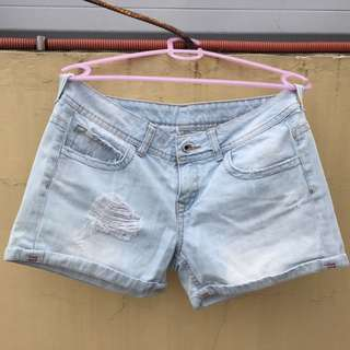 Preloved Bershka Denim Shorts