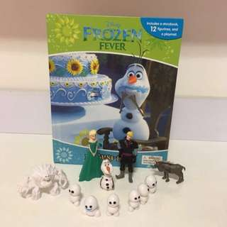 PL Frozen Fever My Busy Book