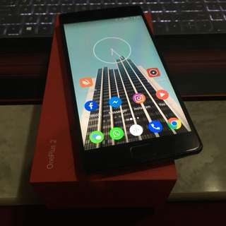 OnePlus two full set with box