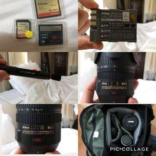 Nikon 24-120mm + Nikon 70-300 + much more bundle