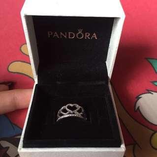 Pandora Heart Crown Ring