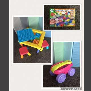 Children's toy promo package 2