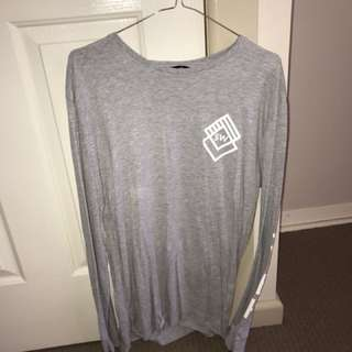 Longsleeve shirt grey S