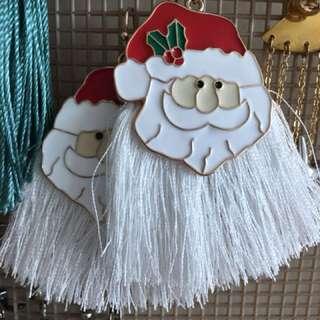 Santa Earings