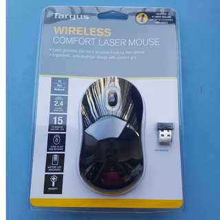 Targus Wireless Comfort Laser Mouse