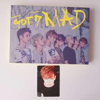 GOT7 Mini Album Mad