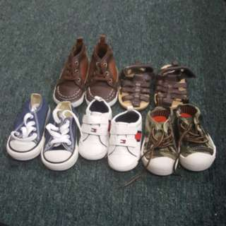 Baby boy bundle shoes