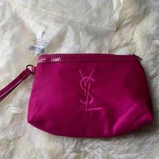 Ysl wristlet pouch